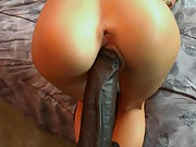 Ripping Alexia Skys pussy with a big ass black dick