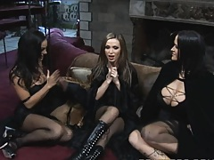 Hot pornstars witches cook up some stew