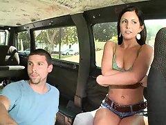 Mia getting ready for a big swallow on bangbus
