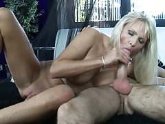 Winnie sucks cock out of her own dirty asshole