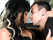 Sky in tight red panties gets fingered