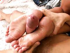 Ivy Winters moans as her smooth anus is licked