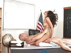 Cowgirl small tits short college slut fuck Ruby Rayes