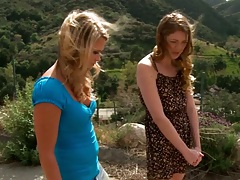 Outdoors with Chanel Preston lookin for a good time