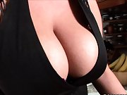 Big tits round asses hot milfs in the kitchen