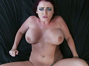 Nice big tits jiggle while she is penetrated