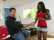 First time auditions with black hottie Amare