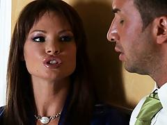 Rhylee interrogates her husband assitant bout cheating