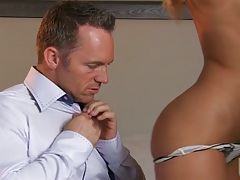 Pulling down panties on babe jessica drake with blowjob and 69 licking