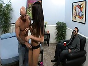 Husband lets us fuck the hell out of his wife and he sees