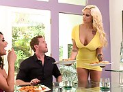 Hot and mean wife Lylith gets friend to come over