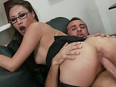 Cowgirl with finger up her own asshole Miko Lee