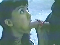 Teen amateur blowjob with Cheryl Dynasty and reverse cowgirl riding cock